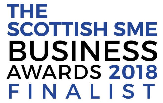 The Scottish SME Business Awards 2018 finalist